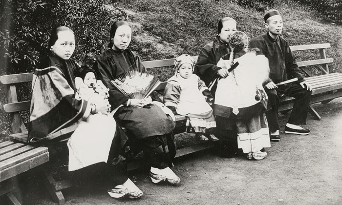 Chinese immigrant family
